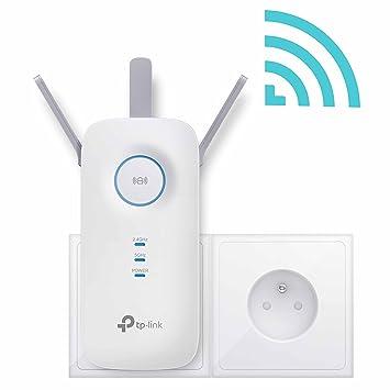 TP-LINK re450 (fr) repetidor Wi-Fi doble banda Ac 1750 Mbps