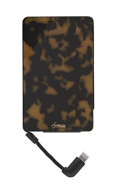 Extremely Cheap Online Cheap Sale Visa Payment Brown Tortoise Portable Charger in Brown Sonix Best Wholesale Cheap Online PySNmhm