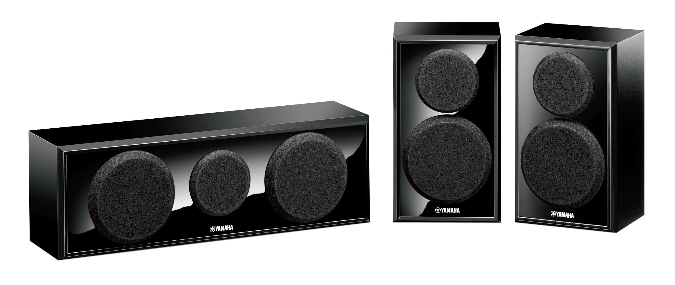Yamaha NS-P150 Center/Surround, Speaker Package (3) by Yamaha