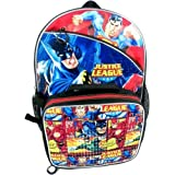 Justice League 16 Backpack with Lunch Box Combo