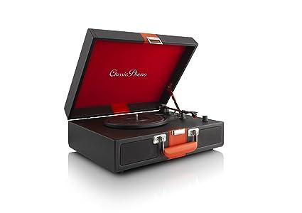 Classic Phono TT-33 - Tocadiscos (Semi automático, 2 ...