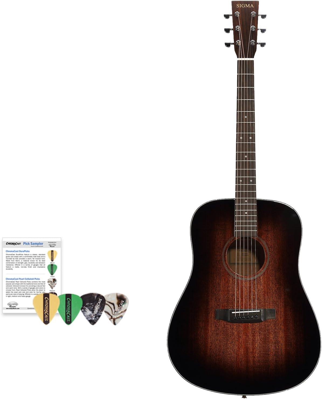 Sigma Guitars SD15SHB-KIT 1 - Guitarra acústica (1 unidad): Amazon ...