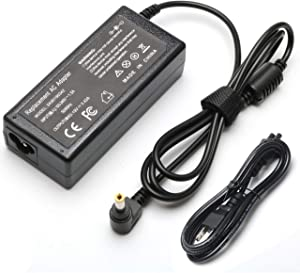 3.42A 65W AC Power Supply Cord Adapter for Toshiba Satellite C50 C55D C75 E45 L55 L75 P50 A135 A660 C650D C655 L750 L850 Laptop PA3714U-1ACA Charger
