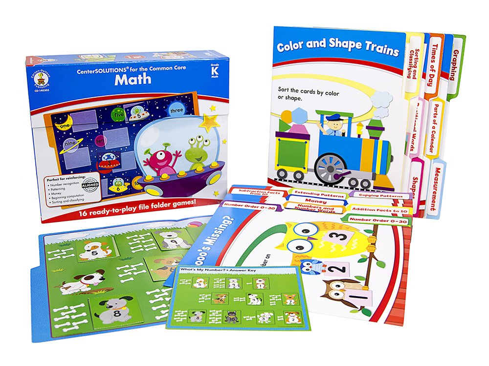 Carson Dellosa Math File Folder Game (140305)