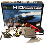 Ablevision 55w Hid Xenon Conversion Kit Slim Ballast Single Beam and Bi-xenon Options H1 H3 H4 H7 H8 H9 H10 H11 H13 Hb3 9004 9005 9006 9007 (9006, 6000K (Pure White))