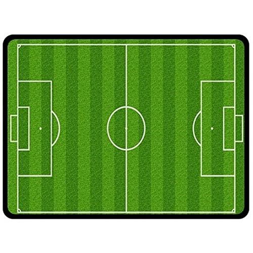 Soccer Green Field Blanket