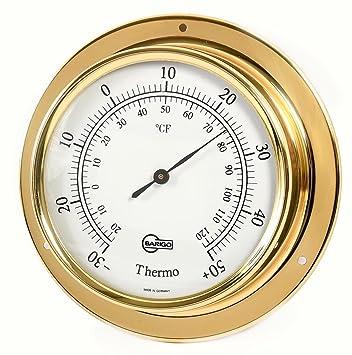 Ordentlich Barigo Maritim Wetterstation Analog Regatta Baro Thermo Hygro Chrom Wetterstationen