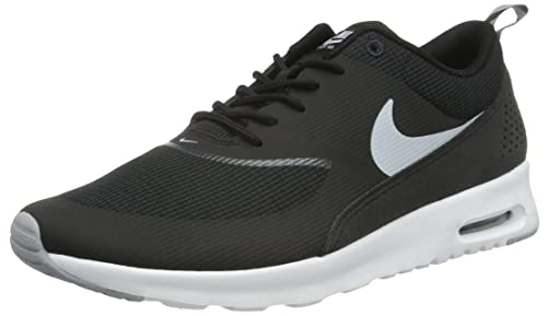 reputable site 71d5e a90b3 NikeAir Max Thea - Zapatillas de Running Mujer, Negro (Black Wolf Grey  Anthracite White), 35.5  Amazon.es  Zapatos y complementos