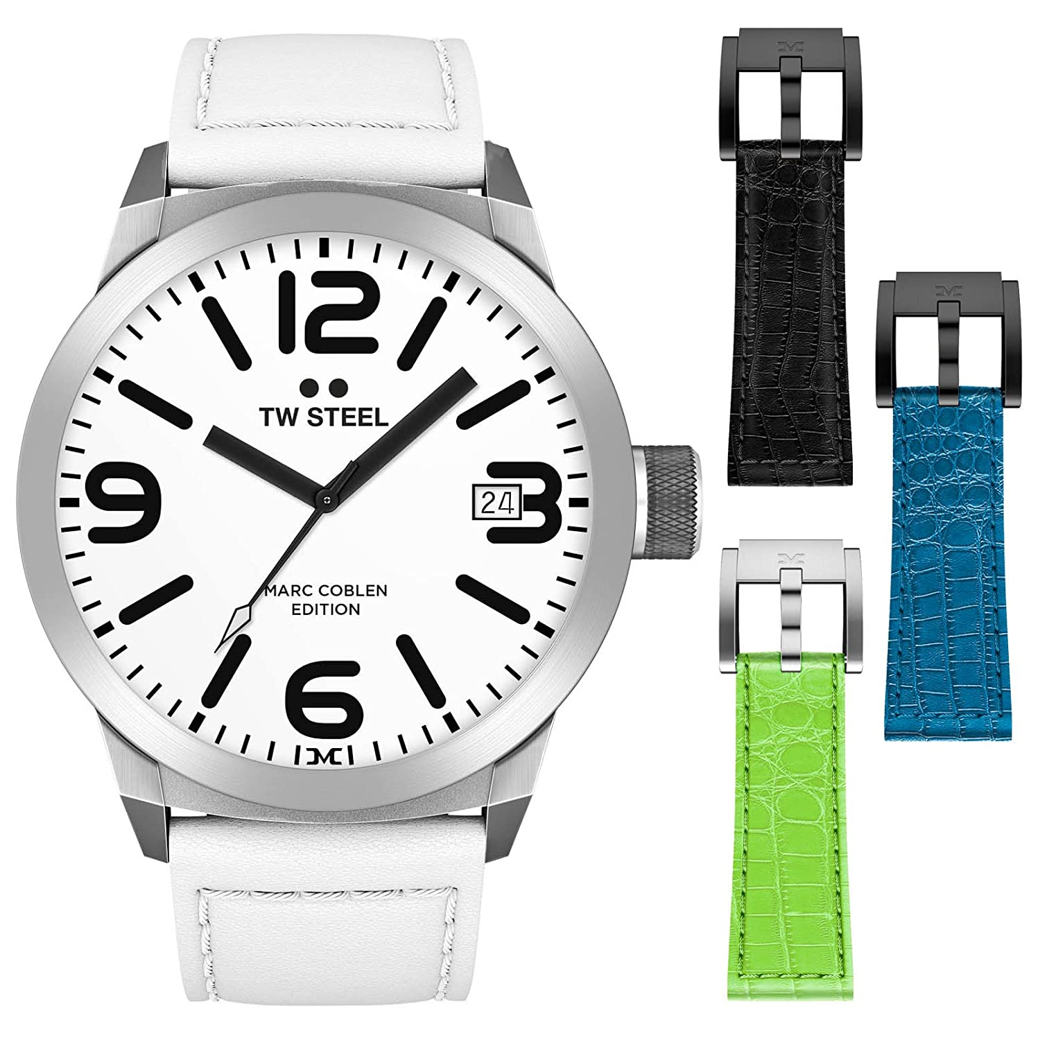 TW Steel Marc Coblen Edition 45 MM Set mit 3 ArmbÄndern TWMC20 - SET75