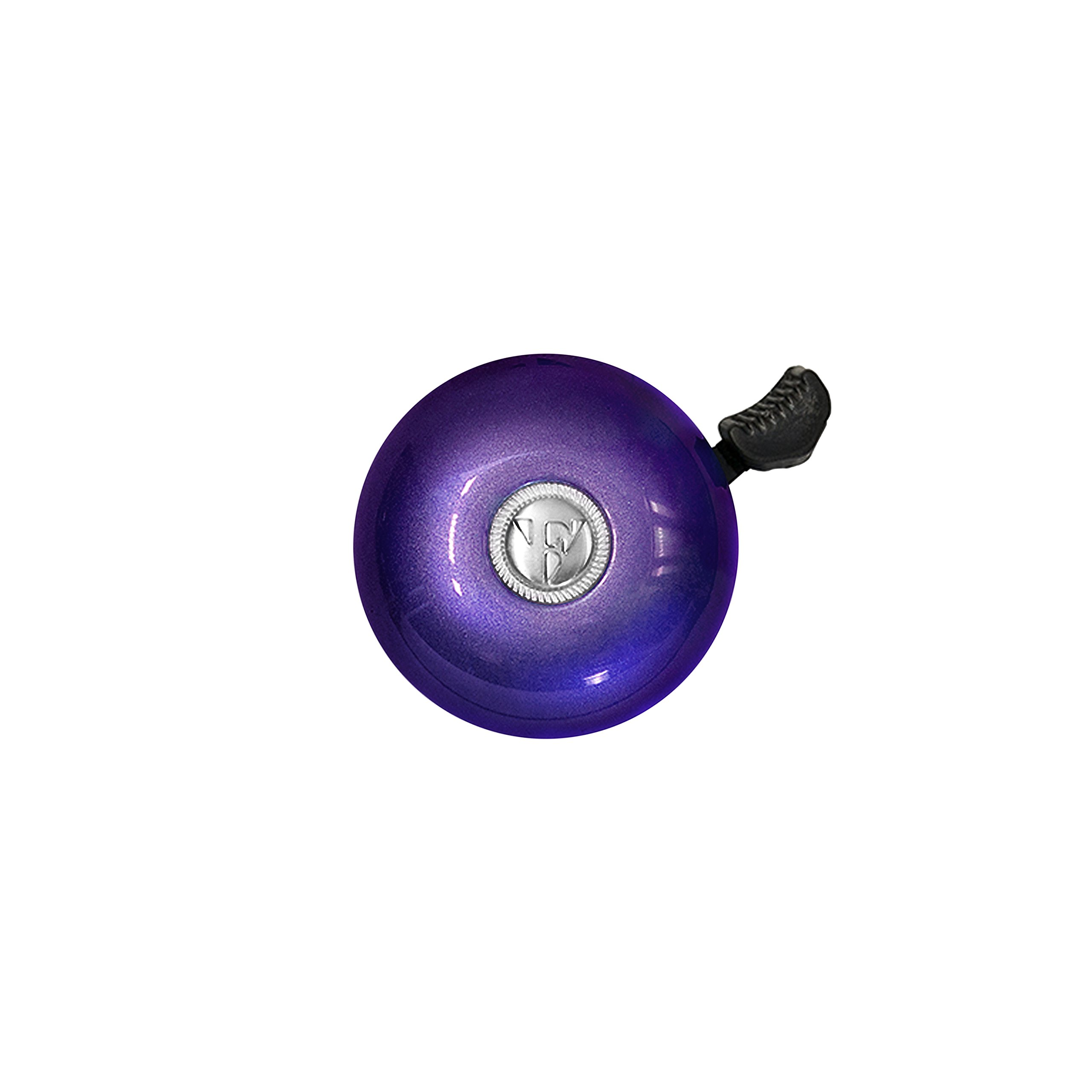 Firmstrong Classic Beach Cruiser Bicycle Bell, Purple