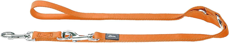 orange ca 20//200 cm Hunter Leine Nylon