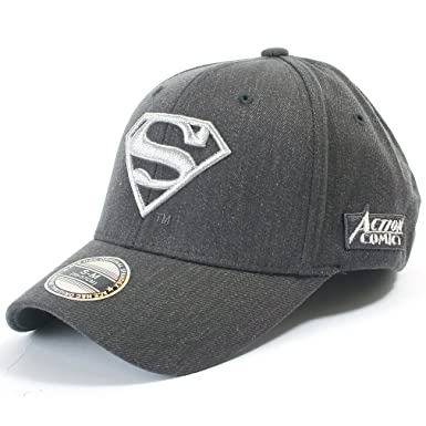 66758877eee ililily Superman Baseball Cap with Superman Shield Embroidery Fitted  Trucker Hat (ballcap-602-