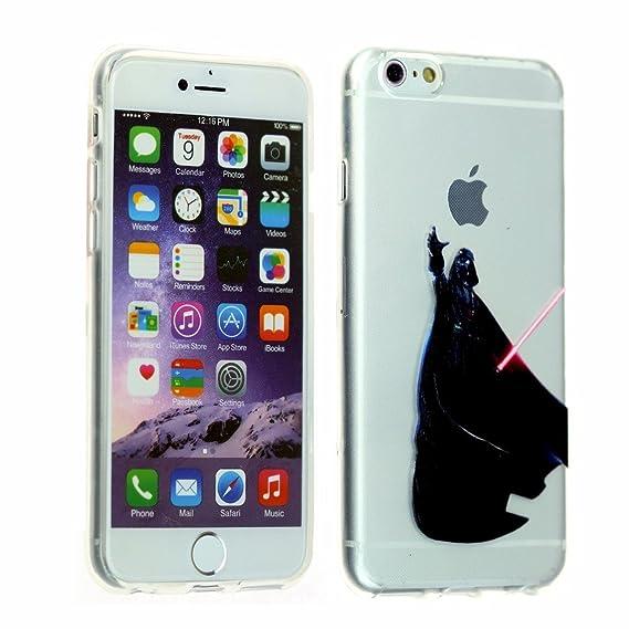 the latest 5c2b4 7f80a iPhone SE Case, Clear Darth Vader Holding Apple iPhone 5 Case DURARMOR  FlexArmor Flexible TPU Bumper Case Ultra Slim ScratchSafe Shock Absorbing  ...