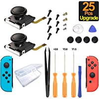 Switch-joystick-replacement-joy-cons Joycon-repair-kit-for-Nintendo-switch-controllers Repair-kit-for-switch-lite…