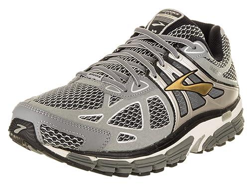 Brooks 1101711D - Zapatillas de Running de competición de Sintético Hombre, Color Plateado, Talla 40.5 EU 2E: Amazon.es: Zapatos y complementos