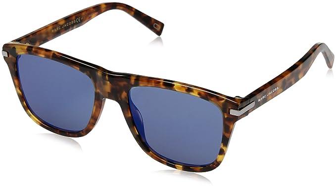 Marc Jacobs Herren Sonnenbrille Marc 184/S T4 Ahf, White Havana/Gy Grey, 49