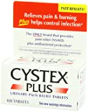 Cystex® Plus Urinary Pain Relief Tablets