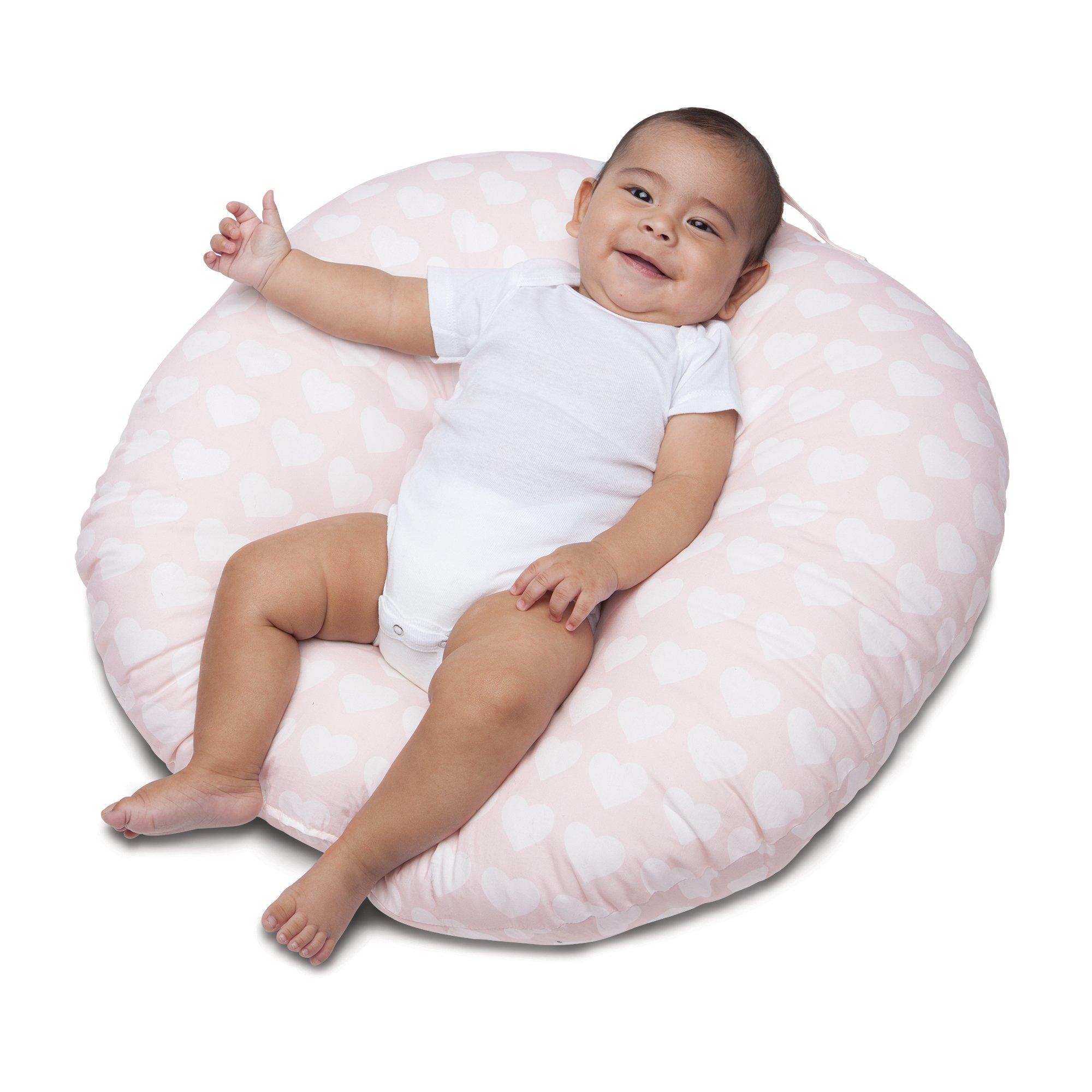 Boppy Newborn Lounger, Pink Hearts