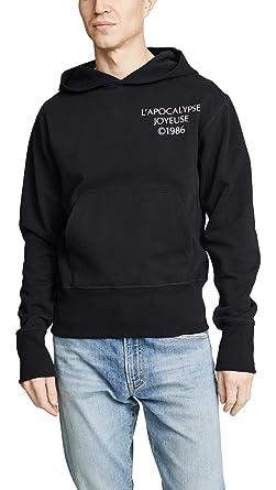 Amazon Com Helmut Lang Men S Logo Hack Hoodie Black Small Clothing
