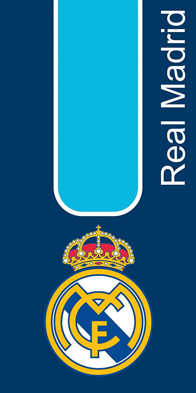 Secaneta Real Madrid Toalla Playa Terciopelo, Azul, 75 x 150 cm: Amazon.es: Hogar