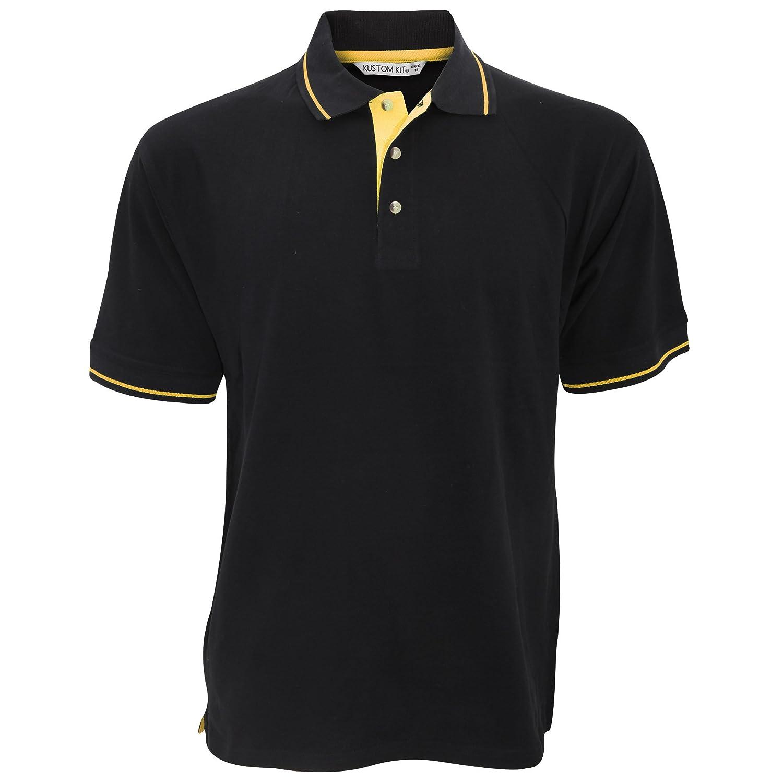 KUSTOM KIT Mens St Mellion Mens Short Sleeve Polo Shirt