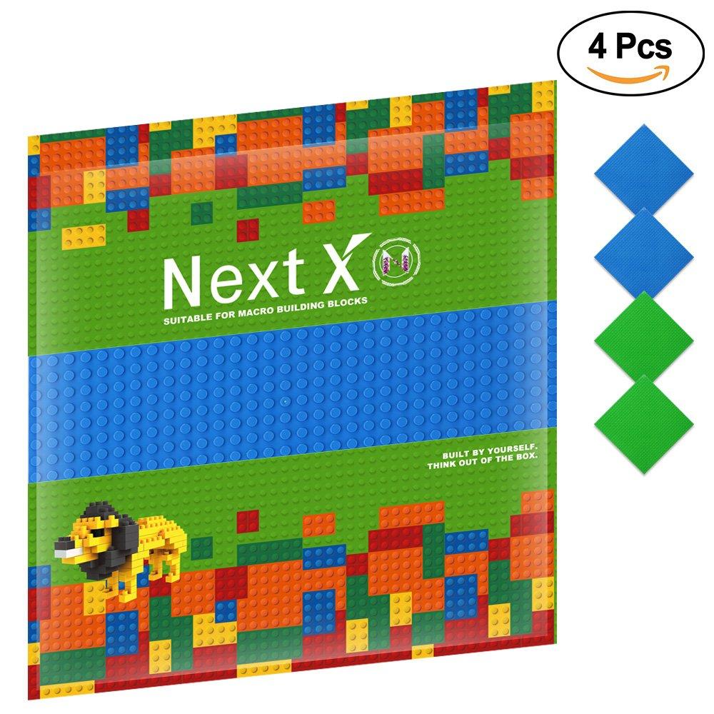 NextX piezas de base plancha para classic construir game plastico bases placa