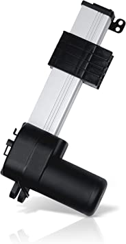Force 900 lbs 12 VDC Speed 0.25//sec 12 VDC PA-18-6-900 Speed 0.25//sec Progressive Automations Track Linear Actuator Stroke Size 6