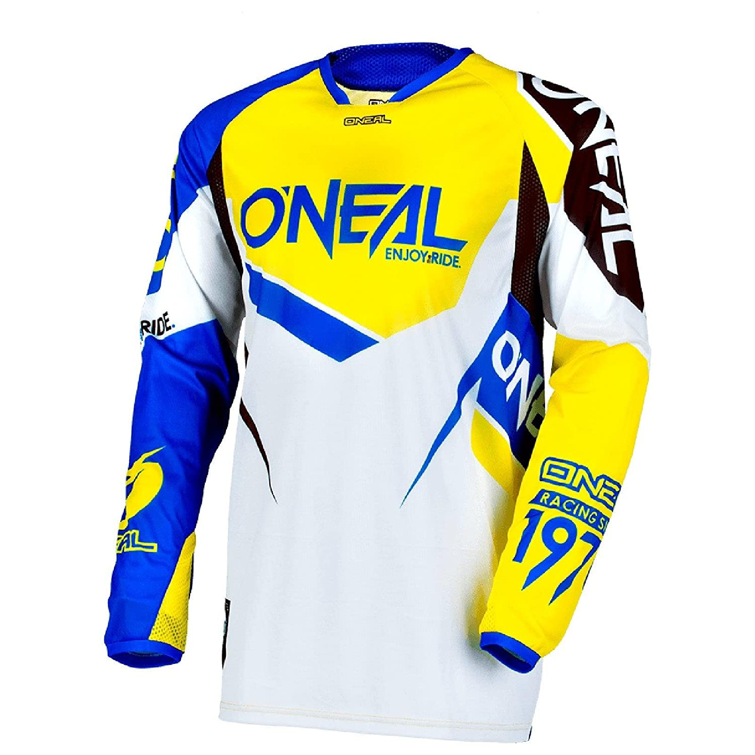 ONeal Unisex-Adult Hard wear Jersey Flow Blue//Yellow XX-Large