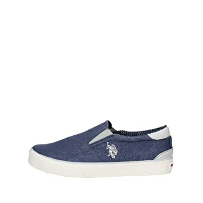 U.s. Polo Assn GALAN4107S7/TY1 Slip-on Zapatos Hombre Jeans 41 ...