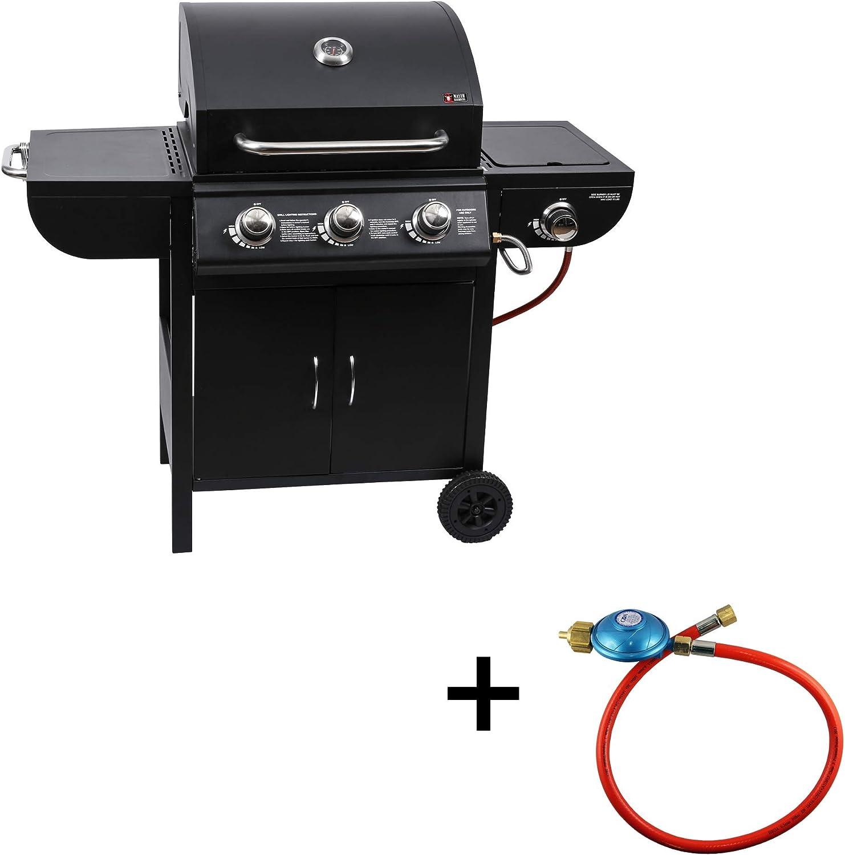 Mayer Barbecue ZUNDA Grill à gaz MGG 531 Basic avec Brûleur