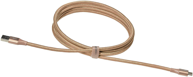 1//ª generaci/ón Cable macho de USB 2.0 C a USB 3.1 A Basics 1,8 m Rojo de nailon con trenzado doble