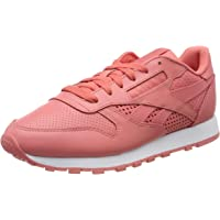 Reebok Women's Classic Leather Sneaker, Rose/White