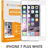 Tech Sense Lab(Australia) Iphone 7 Plus Premium Tempered Glass Screen Protector [9H] - Full HD, Shatterproof, Anti Scratch Screen Guard For Iphone 7 Plus (White)