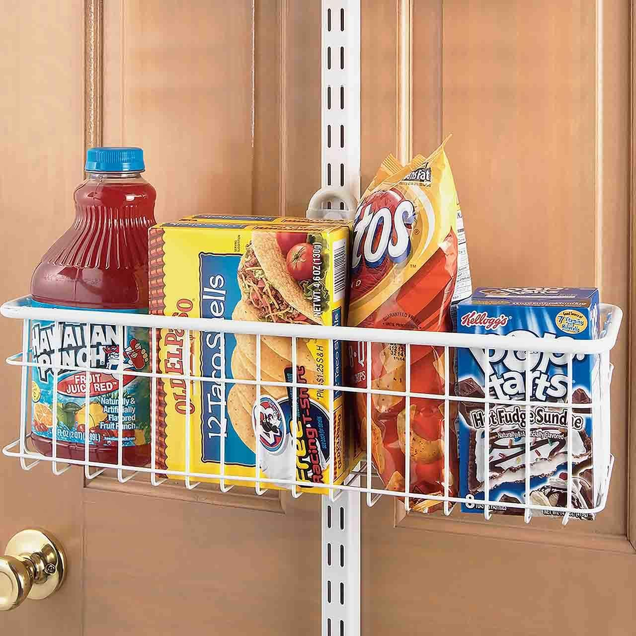 MD Group freedomRail Large Over Door Basket, 8.25'' x 7'' x 6.5 lbs by MD Group (Image #3)