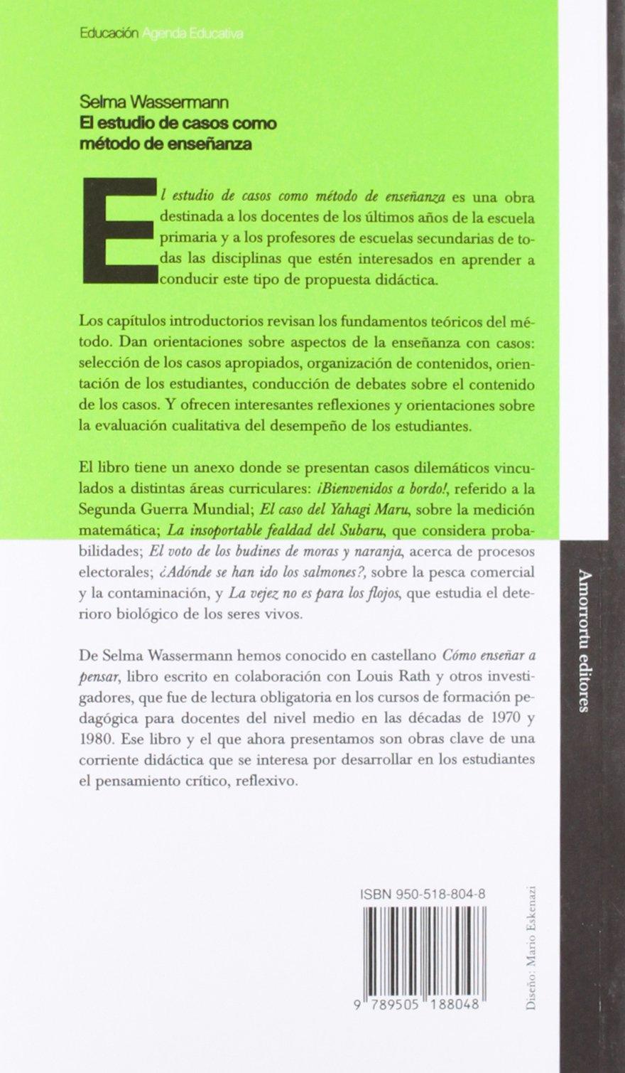 Estudio de Casos Como Metodo de Ensenanza (Spanish Edition ...