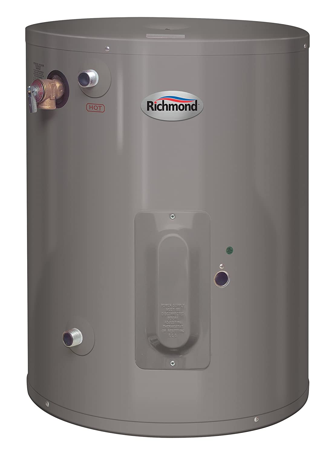 RHEEM/RICHMOND 6EP15-1 Richmond Electric Water Heater, 15 Gal, 15 gallon