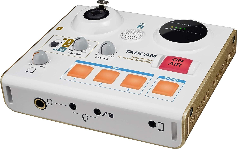 Renewed Tascam US-32 MiniStudio USB Podcasting Broadcast Audio Interface