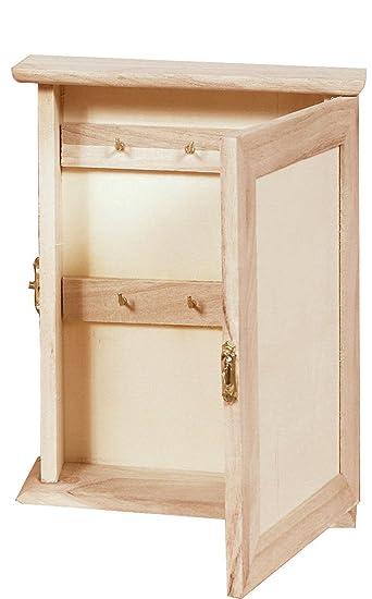 Holz Schlüsselkasten - klein, Schlüsselbox, Schlüsselschrank aus ...