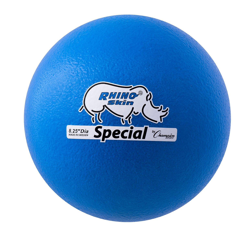 Champion Sports Rhino Skin Special Ball (Neon Blue)