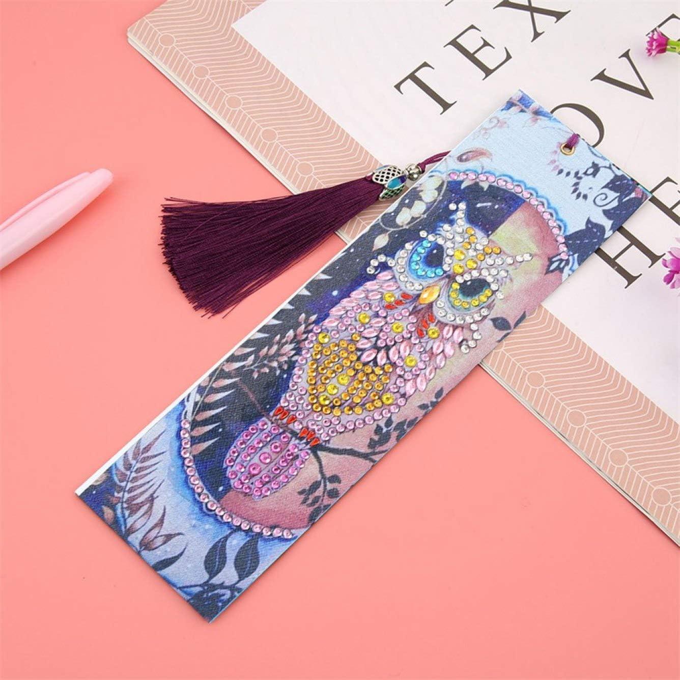 Isa/ïe Grateful Diamond Painting Marque-page cr/éatif Motif fleur Pendentif marque-page Cadeau 7