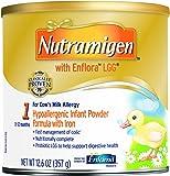 Enfamil Nutramigen with Enflora LGG infant Formula, Powder, 12.6 Ounce Can, Pack of 6