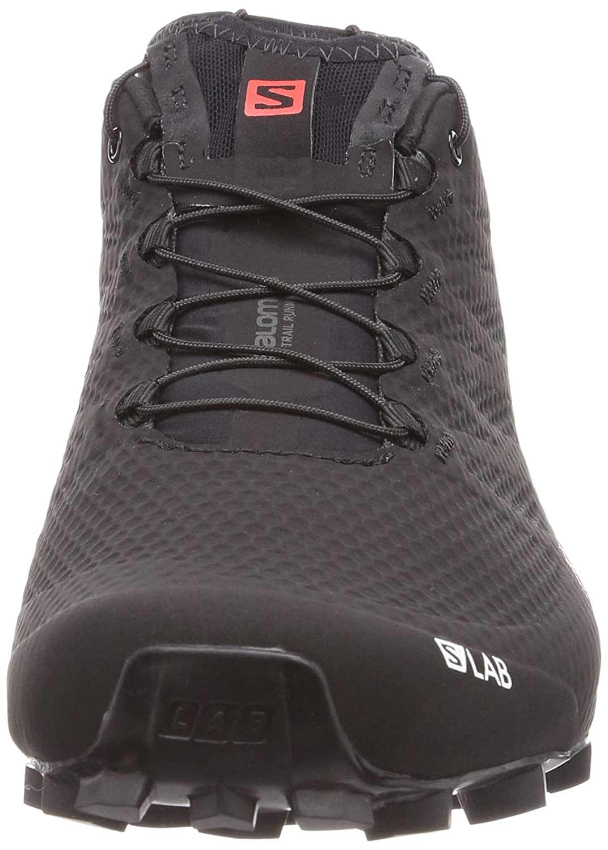 Salomon Men's S/Lab Speed 2 Running Shoes B073S7B77X 10 D(M) US|Black, Racing Red, White