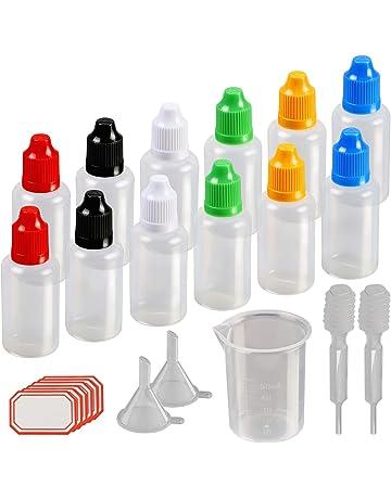 12 X 30ml cuentagotas del frasco de KAKOO plástico la dosificación de tuna botes eliquid la