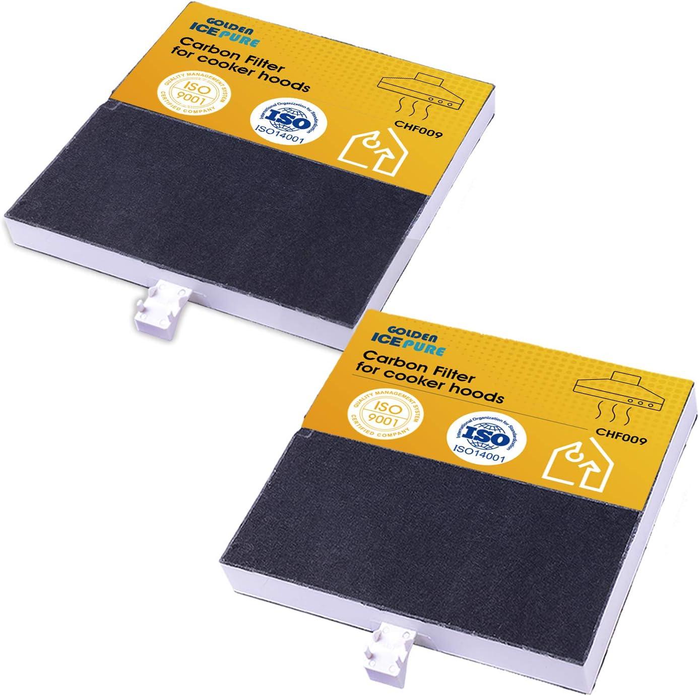 GOLDEN ICEPURE Filtro de carbón/filtro/filtro de carbón activo para diversos modelos de campana extractora/hauben/Essen de Balay/Bosch/Constructa/Neff: Amazon.es: Grandes electrodomésticos