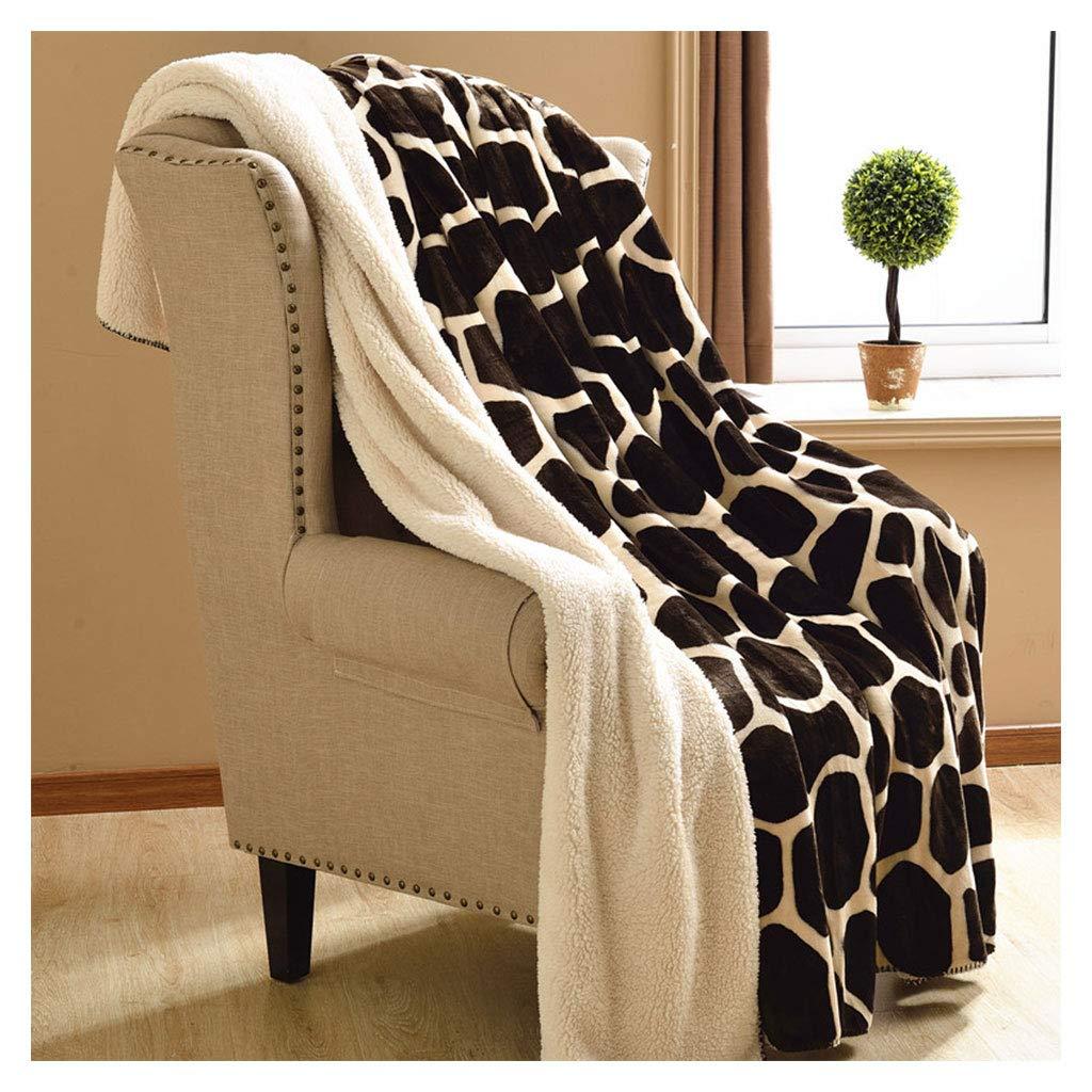 ブランケットをダブルスロースーパーソフトふわふわの居心地の良い創造的な厚い暖かいソファーベッドの毛布 (サイズ さいず : 180*200cm) B07HH5ZM15  180*200cm