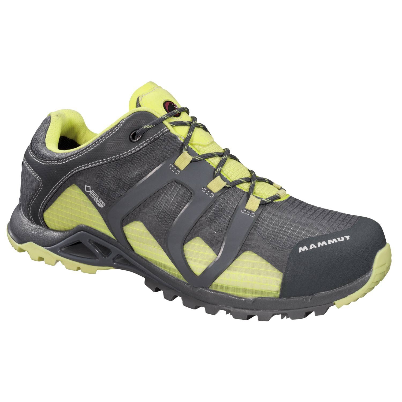 Womens Comfort Low GTX SURROUND Hiking Shoes Grey/Lemon Size 7