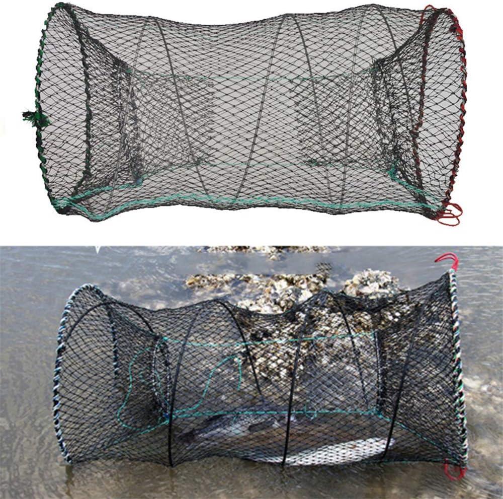 Deyan Fischen Zusammenklappbare Falle Flusskrebse Hummerf/änger Topf K/öderfalle Fischnetz Aal Garnelen Garnelen Live Bait