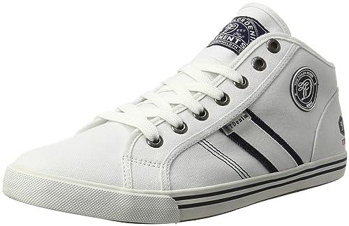 TOM Tailor 2786002, Zapatillas Altas para Hombre, Weiß (White), 45 EU