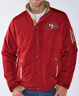 bc063a95a San Francisco 49ers NFL G-III Sack Full Zip Concealed Hood Polyfill Jacket