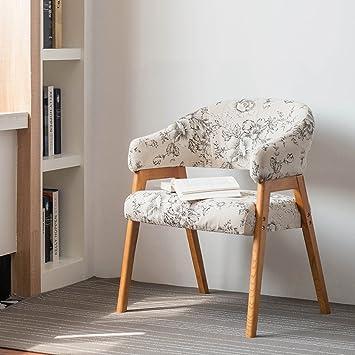 Confortable Personnalite Solide En Bois Fauteuil A Manger Chaise Minimaliste Moderne Scandinave De